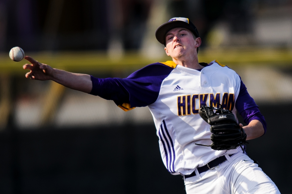 Slideshow: Baseball: Staley 11, Hickman 6; Kewpies learn on the job: Hickman drops pair of games to state powers.